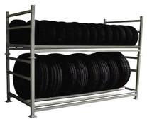 Rack expositor de pneus