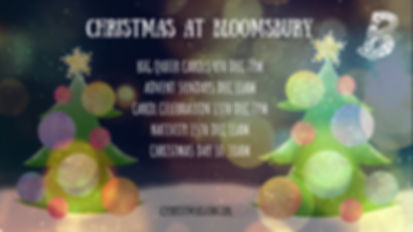 Christmas at Bloomsbury