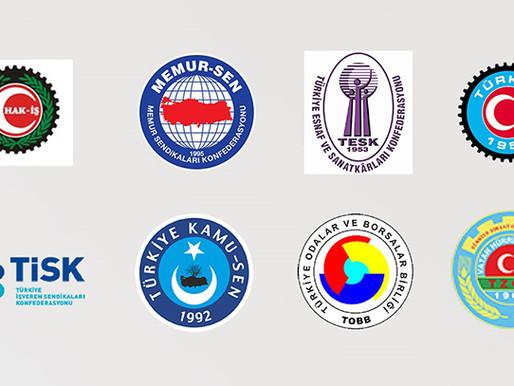 TÜRKİYE - AB KİK ÜYELERİNDEN ABD BAŞKANI BİDEN'E ORTAK TEPKİ
