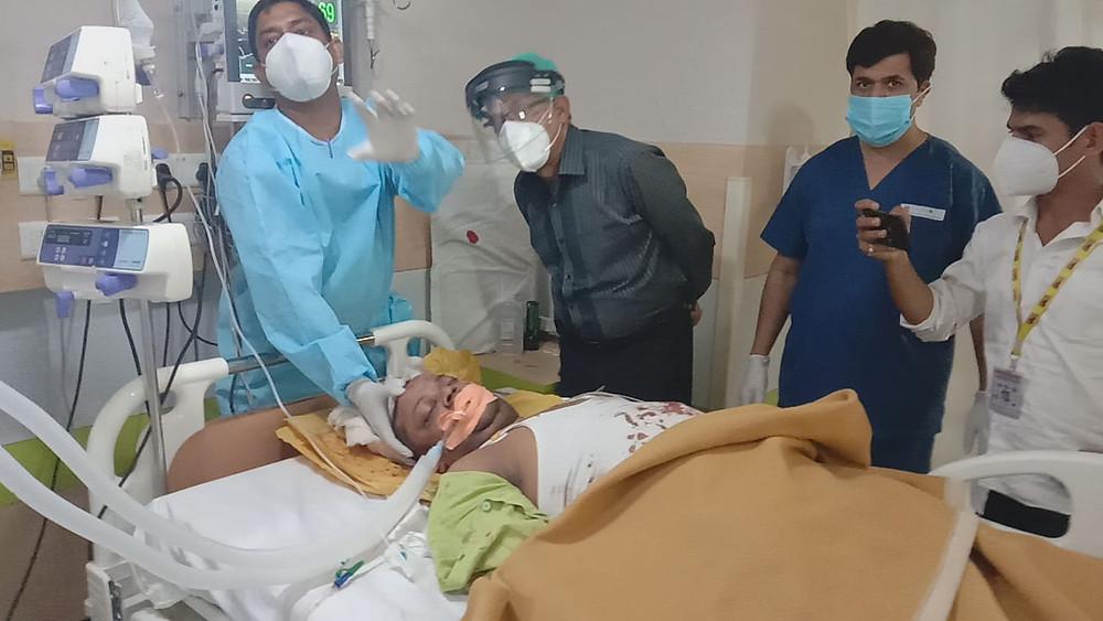 बेखौफ बदमाश ने पत्रकार को मारी गोली, पुलिस प्रशासन की सुस्ती बोले करवाई करेंगे