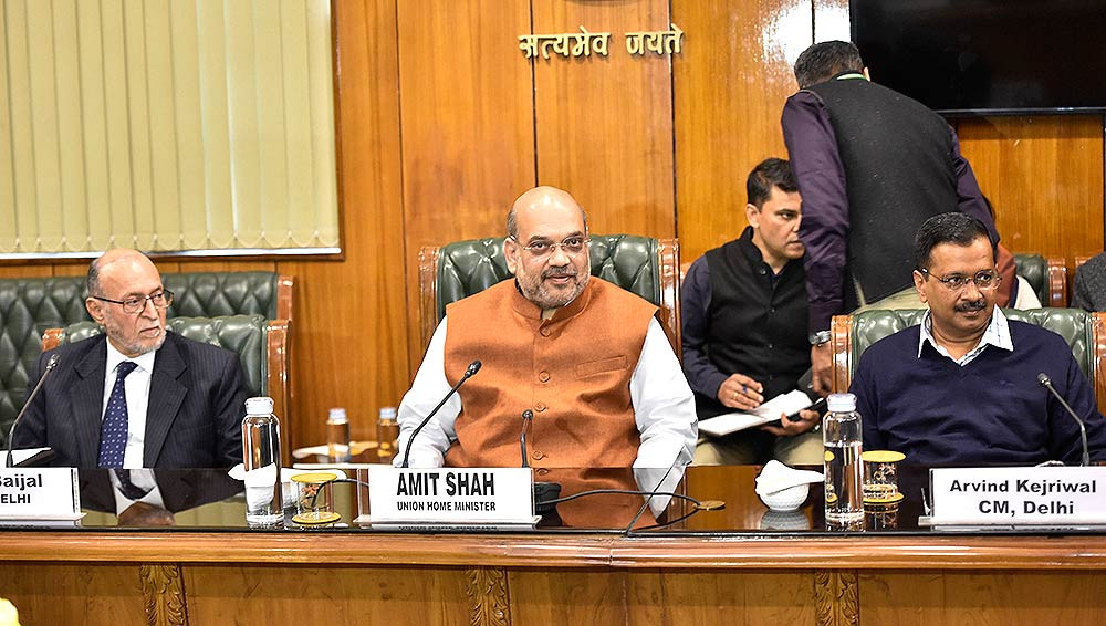 It all about Kejriwal and amit shah meeting regarding drastically increment in corona cases.