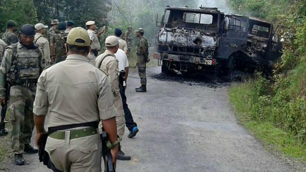 Terrorist Attack on Assam Rifles: असम राइफल्स के जवानों पर हुआ आतंकवादी हमला, 3 सैनिक शहीद 6 घायल