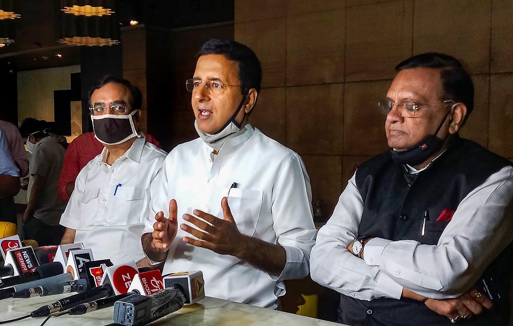 Rajsthan Crisis: राजस्थान कांग्रेस में घमासान जारी, BJP ने इस बार गलत राज्य चुन लिया: सुरजेवाला