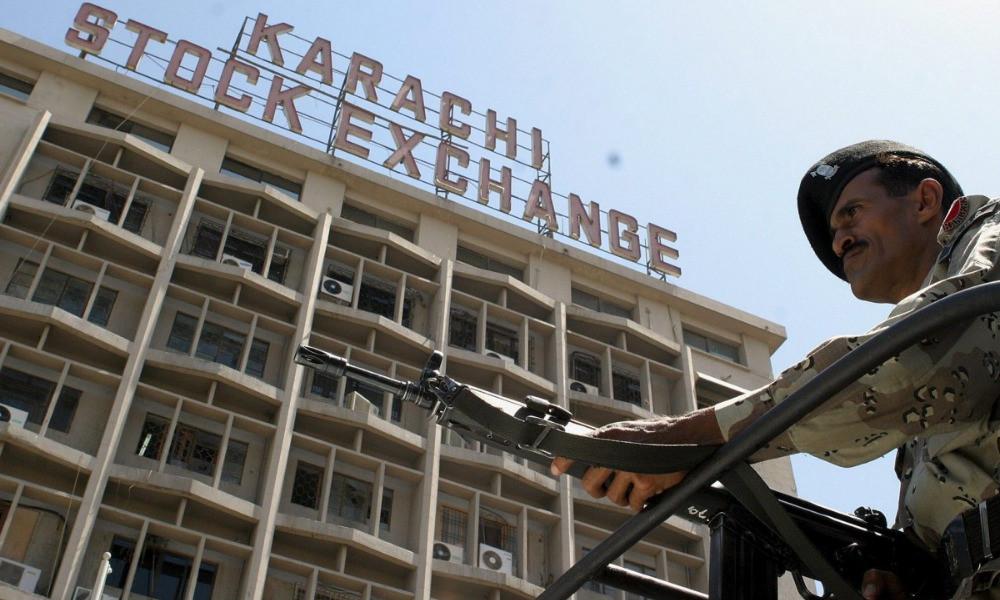 Karachi Attack 2020: पाकिस्तान के कराची स्टॉक एक्सचेंज पर हमला, कुल 9 लोग मारे गए  and 7 injured.