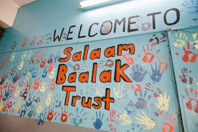 Salam balak trust the First Home of Shivalak in Delhi