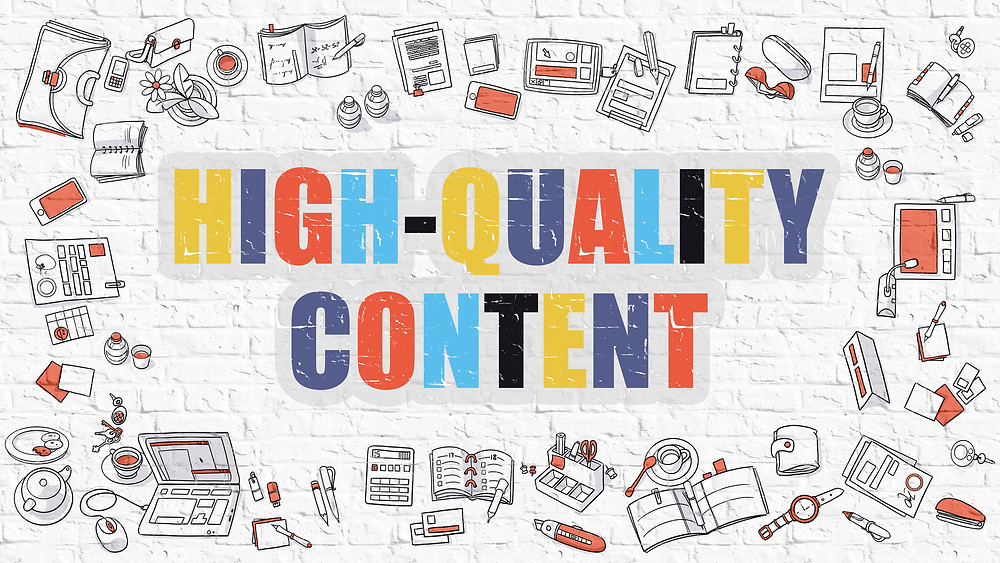 What do specialist Mean by 'High Quality Content or article' for Your Website?