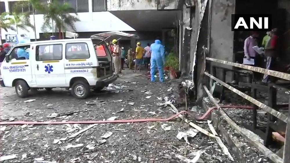 Vijayawada Covid Center Fire Updates: विजयवाड़ा के कोविड-19 सेंटर में लगी भीषण आग, 7 लोगों की मौत