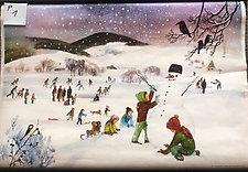 P1 - Dětské radovánky v zimě