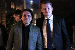 Евгений Куликов и Питер Гарнри