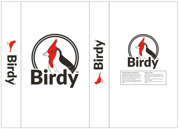 Birdy brand - 20kg up bag