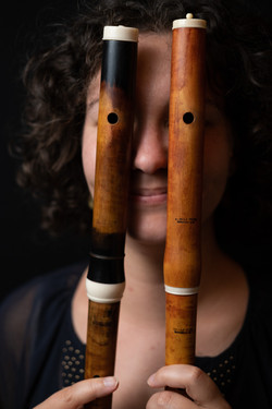 Flute eyes