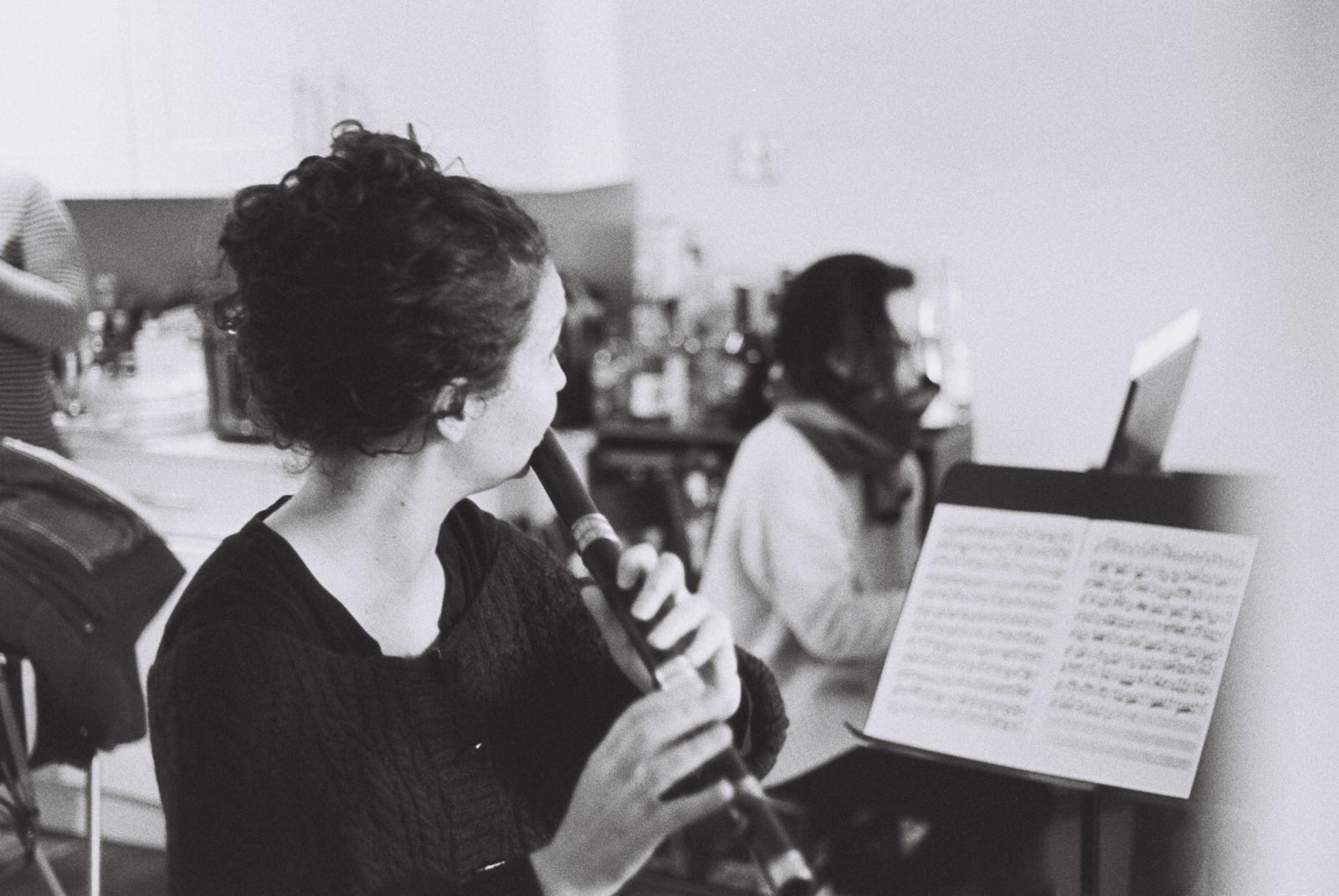 Rehearsal on a Bressan