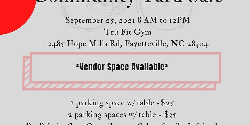 3rd Annual Community Yard Sale