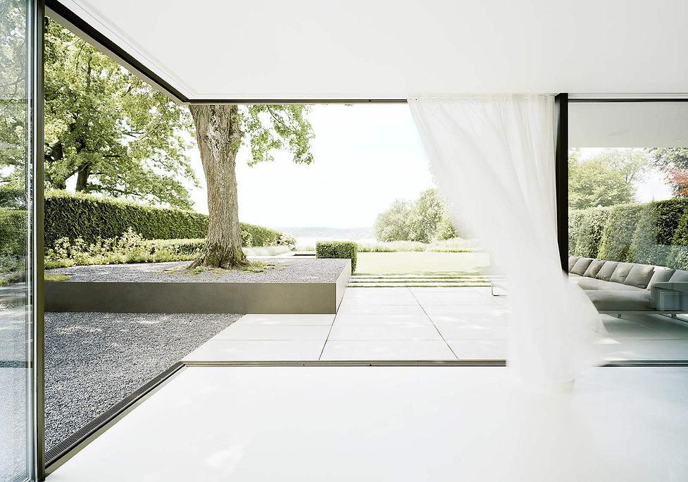 Ein harmonischer Übergang zwischen Innen und Außen