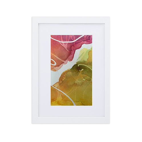 A Graceful Separation: Framed Print With Mat