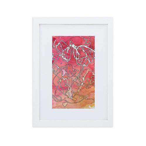 Marvelous: Matte Paper Framed Print With Mat