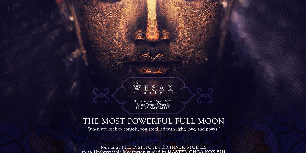 Inscrições encerradas. Meditação da Lua Cheia de Touro - Celebração do Festival de Wesak