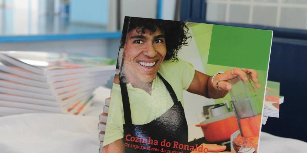 """Campanha do Livro """"Cozinha do Ronaldo"""" e Movimento Água no Feijão. (1)"""