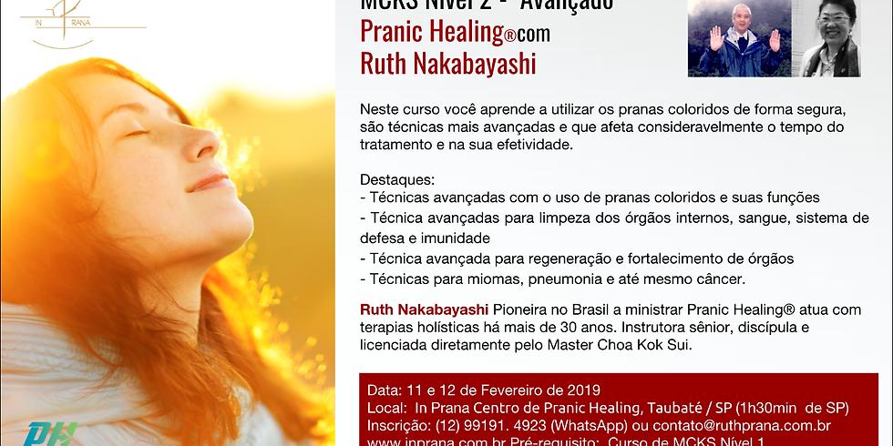 Curso Avançado de Pranic Healing