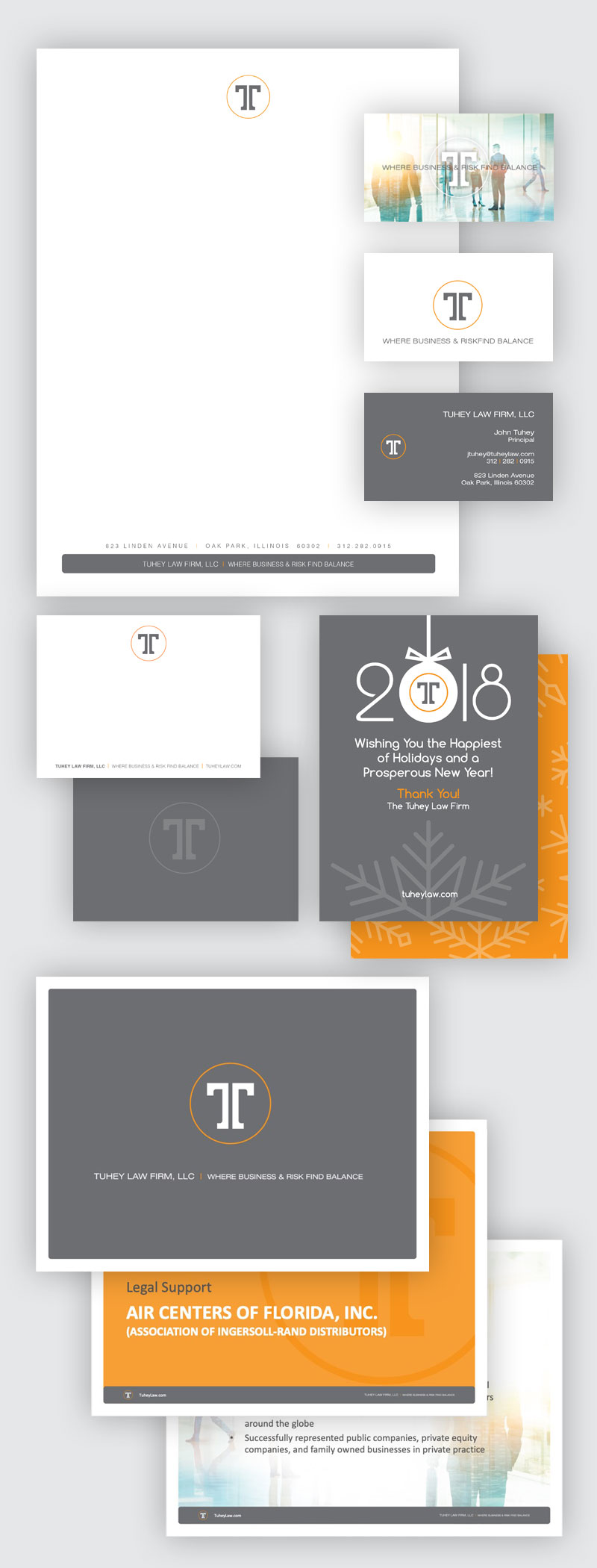 The Tuhey Law Firm, LLC Branding