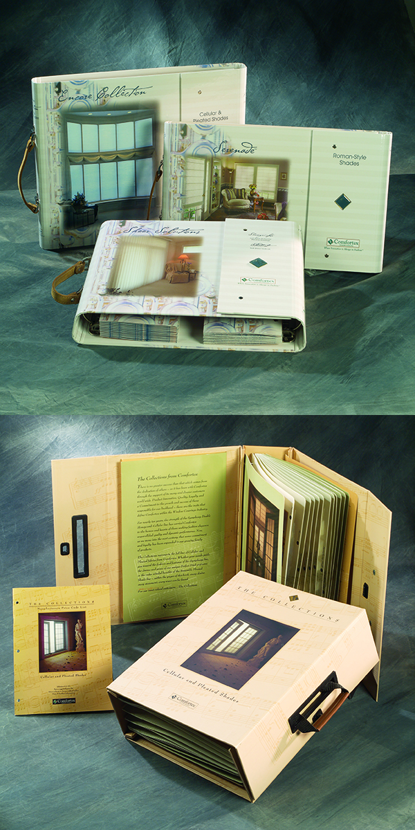 Window Coverings Sample Books