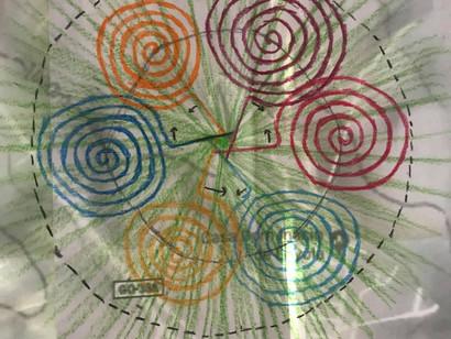 28 août 2019 - Nouvel outil géobiologique à Abadiânia