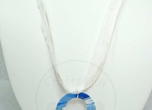 Simple Blue Necklace #4, Item JN-Sibl-004