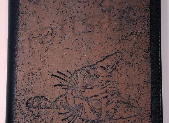 """Kittie-Kat"" embellished journal cover"