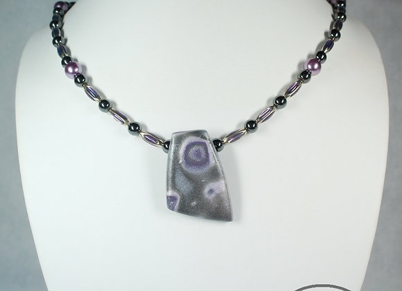 Pink and Purple Passion Necklace, Item JN-PuPa-022
