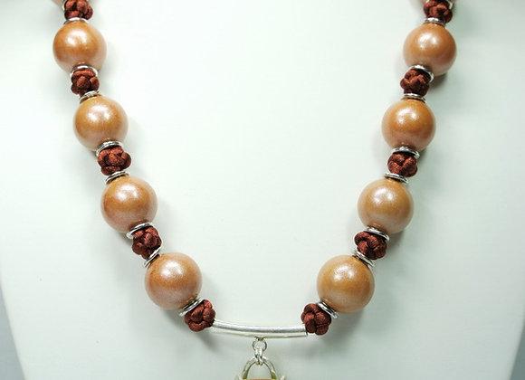 Colorful Neutrals necklace, Item JN-CoNu-008