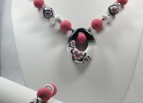 Aloha Necklace and Bracelet Set: JS-AlHa-001