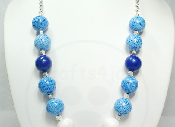 Simple Blue Necklace #2, Item JN-Sibl-002