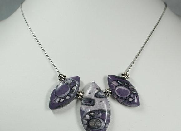 Purple Passion Necklace, Item JN-PuPa-013