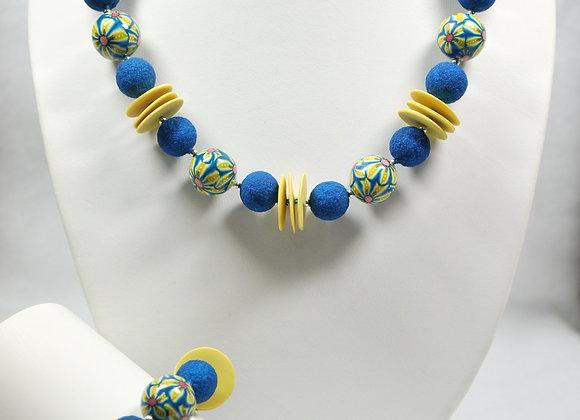 Aloha Necklace and Bracelet Set: JS-AlHa-003