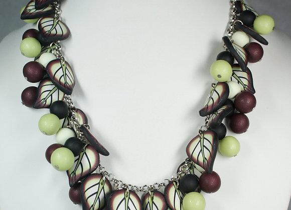 Fall Berries Necklace & Bracelet, Item JS-FaBe-001