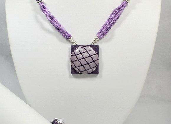 P&P Passion Necklace w/Bracelet, Item JS-PuPa-001