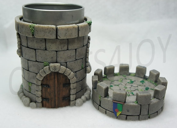 Castle Turret Tower Can, Item T-001