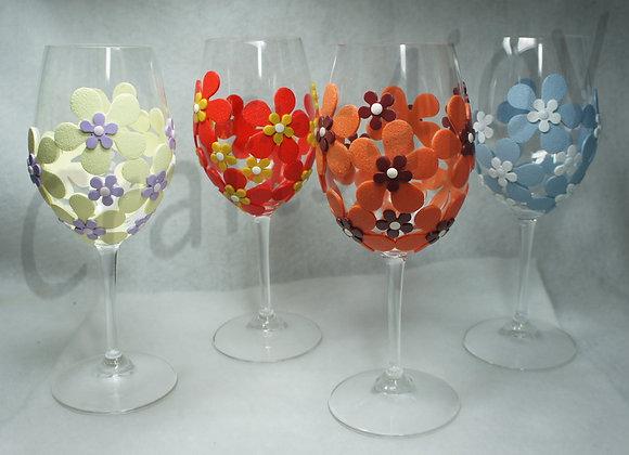 4-Seasons wine glasses