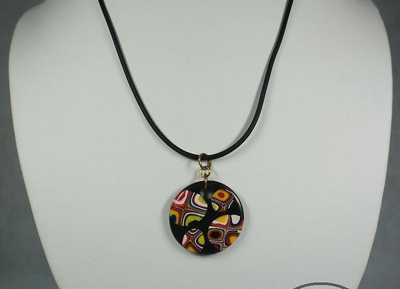 Art Deco Cane Necklace, Item JN-AdCn-001