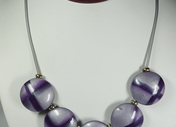 Purple Passion Necklace, Item JN-PuPa-014