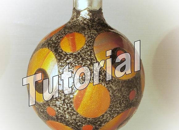 Retro Circle Ornament tutorial