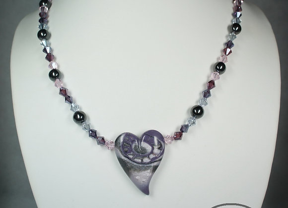 Pink and Purple Passion Necklace, Item JN-PuPa-021