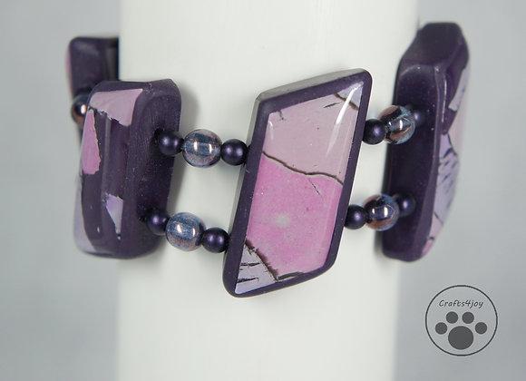Pastel Tile Bracelet, Item JB-PaTi-001