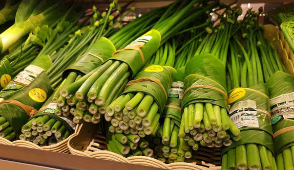Produce-Wrapped-in-Banana-Leaves-Perfect