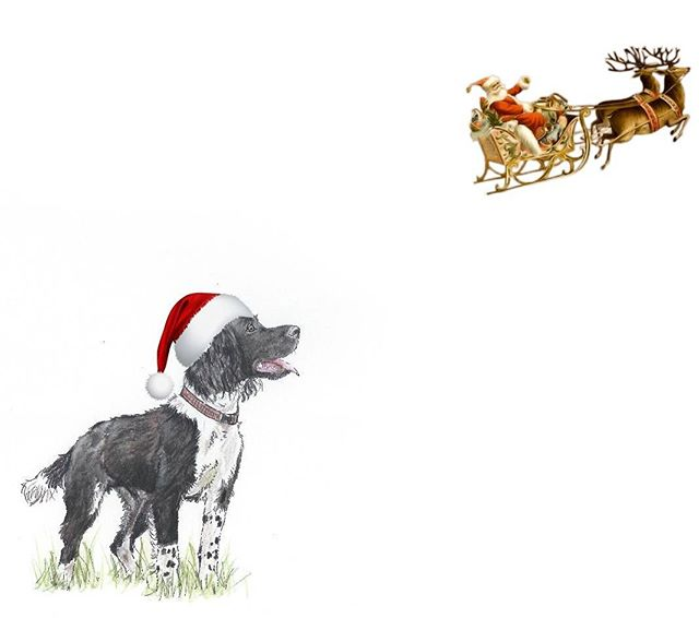 Working on a little Christmas card idea.. .