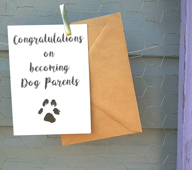Favourite card #dogparents #congratulati