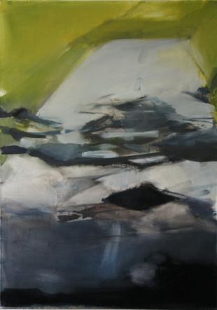 olie op doek, 50 x 70, 2018 (verkocht)