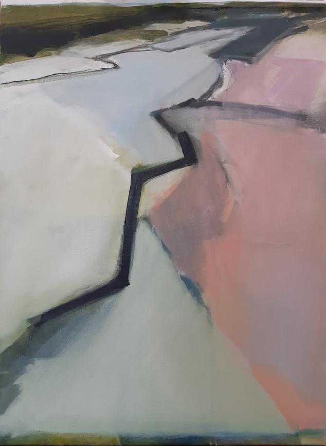 olie op doek, 60 x 80, 2019