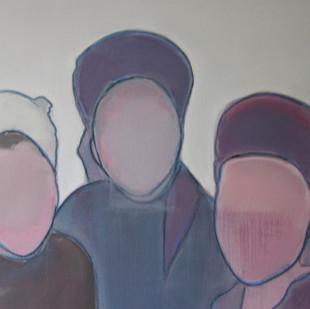 olie op doek 70 x 50, 2011