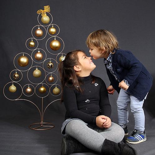 Mini sessione fotografica natalizia
